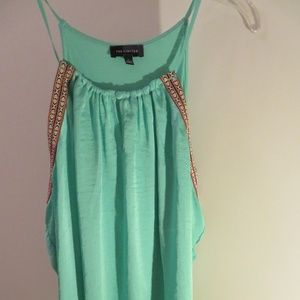 The Limited Coral Green Tank Top